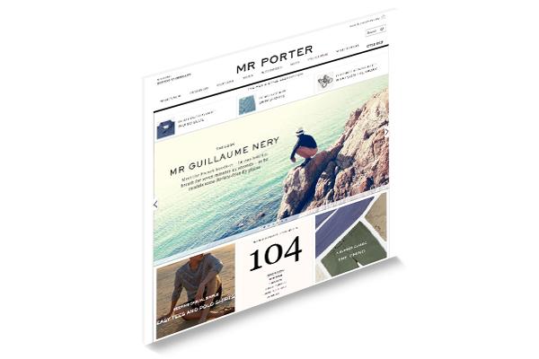 Established mr porter versandhandel for Versandhandel mode