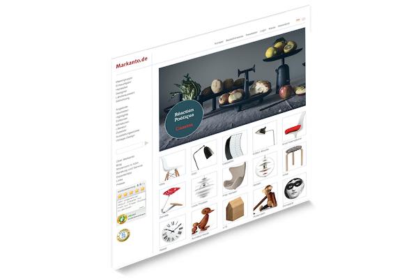 Established markanto designklassiker for Design versandhandel